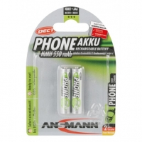 Ansmann Powerline 8 Charger -GERMAN TECHNOLOGY- 3 Year Warranty COMBO (4pcs) AA / HR6 2100 mAh AND (2pcs) Battery AAA / HR03 550