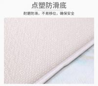 Marble design floor mat set