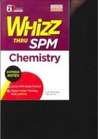 WHIZZ THRU CHEMISTRY SPM