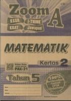 ZOOM A MATEMATIK KERTAS 2 TAHUN 5