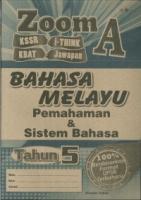 ZOOM A BAHASA MELAYU PEMAHAMAN&SISTEM BAHASA TAHUN 5