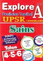EXPLORE A PEILAIAN TOPIKAL SAINS TAHUN 4,5,6 UPSR
