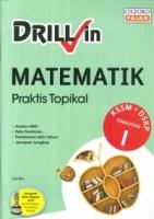 DRILL IN MATEMATIK TINGKATAN 1 KSSM