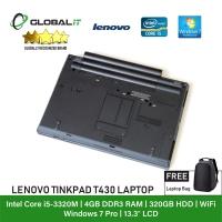 (Refurbished Notebook) Lenovo Thinkpad T430 Laptop / 14 inch LCD / Intel Core I5-3320M / 4GB Ram / 320GB HDD / WiFi / Windows 7