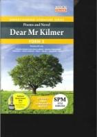 UNDERSTANDING LITERATURE SERIES POEMS AND NOVEL DEAR MR KILMER FORM 5