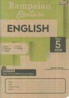 RAMPAIAN BESTARI ENGLISH YEAR 5 KSSR