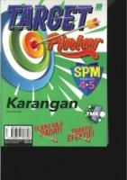 TARGET PINTAR KARANGAN TINGKATAN 4.5 SPM