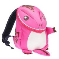 Cartoon Dinosaur Backpack Children Kindergarten School Bag (PINK)