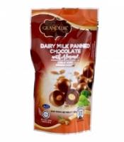 GRANDEUR DAIRY MILK PANNED CHOCOLATE WITH ALMOND 100g