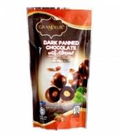 GRANDEUR DARK PANNED CHOCOLATE WITH ALMOND 100g