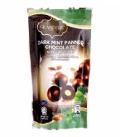 GRANDEUR DARK MINT PANNED CHOCOLATE WITH ALMOND 100g