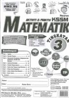 AKTIVITI&PRAKTIS MATEMATIK TINGKATAN 3 KSSM