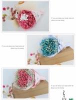 Gypsophila Flower Gift Box Blue