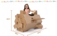 Aircraft Cardboard Tent