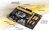 ASUSTEK H81M-K H81/A/S/GB LAN MAINBOARD
