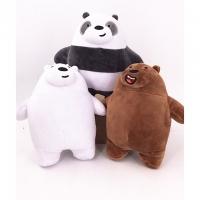 We bare bears plush toys 20cm (set of 3)