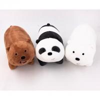 We bare bear plush toys 25cm (set of 3)