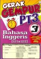 GERAK GEMPUR BAHASA INGGERIS TINGKATAN 3 PT3