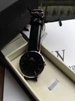 Daniel Wellington DW Classic Black Sheffield Authentic Watch Casual
