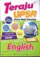 TERAJU KERTAS MODEL CEMERLANG ENGLISH UPSR(2019)