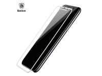 Baseus 0.3mm Silk-screen 3D Arc Tempered Glass Film For iPhone X