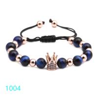 Top Blue Tiger Eye bracelet T1004 (Free Shipping)