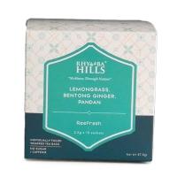 Rhymba Hills® Reefresh Tea (Blend of Lemon grass, Pandanus and Bentong Ginger) 15 Sachets