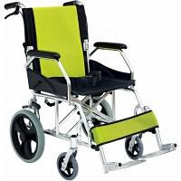 """Light Green Compact Aluminium Pushchair 11 kg (17"""")"""