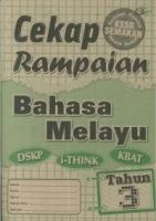 CEKAP RAMPAIAN BAHASA MELAYU TAHUN 3 KSSR(2019)