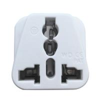 INFINEO Travel Adapter AU US EU To UK Adapter Converter 3 Pin Plug