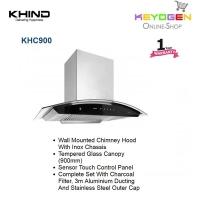 KHIND Cooker Hood KHC900 - Tempered Glass Canopy