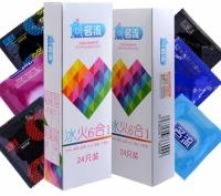 Ming Liu 6 Styles Delay Condoms