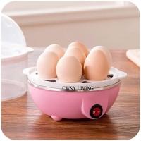 Multifunction Egg Cooker Pink Color