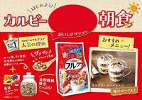 Japan Calbee Fruit Granola Breakfast Cereal 800g