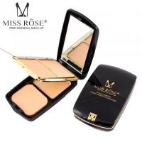 Miss Rose 2 Compact Powder & 1 Creamy Foundation No # 02