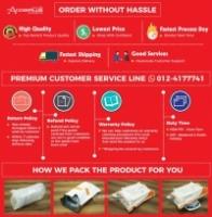 (Genuine) PINENG PN-958 10000mAh Lithium Polymer Shake Dual Output Power Bank - Black/ Blue/ Pink/ White
