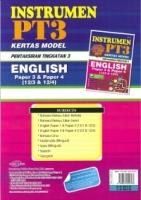 INSTRUMEN KERTAS MODEL PENTAKSIRAN TINGKATAN 3 ENGLISH PAPER 3&PAPER 4(12/3&12/4)PT3 2019