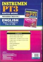 INSTRUMEN KERTAS MODEL PENTAKSIRAN TINGKATAN 3 ENGLISH PAPER 1&PAPER 2(12/1&12/2)PT3 2019
