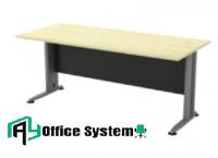 6 Feet Standard Rectangular Shape Office Table (180cm x 80 cm x 75cm) - 2 Tone Series