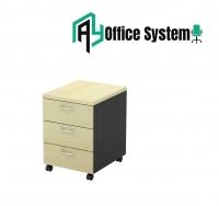 2 Tone Series 3D Mobile Pedestal/ Drawer