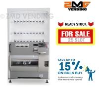 (RECONDITION) SANDEN/NATIONAL CAN VENDING MACHINE - 25 slot