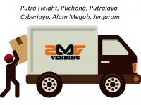 MOVING & RELOCATE VENDING MACHINE (Putra Height, Puchong, Putrajaya, Cyberjaya, Alam Megah, Jenjarom)