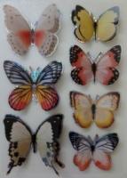Rosie's Studio Shinning 3D Butterfly Stickers Art Craft Scrapbook