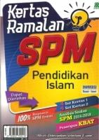 KERTAS RAMALAN PENDIDIKAN ISLAM SPM 2019