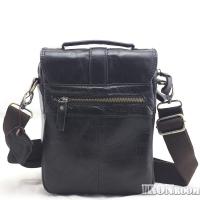 Ironroom Men's Leather Messenger Bag KZ146