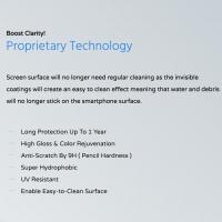 Huawei Nova 4e Screen Protector - Kristall® Nano Liquid Coating Screen Protector for nova 4e 3D Curved Glass, Huawei Nova 4 E Android (Bubble-FREE Screen Protector, Edge-to-Edge Coverage, Super Hydrophobic, 9H Pencil Hardness, Not Tempered Glass)