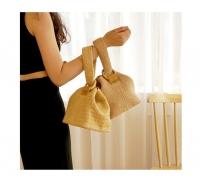 New korean summer beach straw handcarry/sling bag