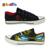 GlamKidz Avengers Iron Man Fashion Canvas Shoes