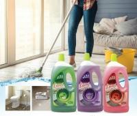 LOVAS MaStar Q Antibacterial Floor Cleaner - 2000mL [Rose] with refreshing smell