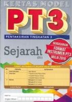KERTAS MODEL SEJARAH TINGKATAN 3 PT3